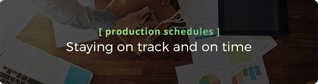 5 Pre-production is where you win or lose - Production Schedules.jpg