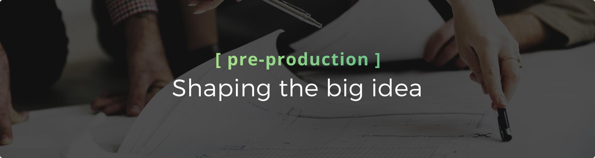 Video Elevates - Pre-Production