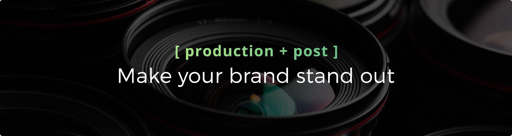 Video Elevates - Production