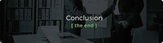 Customer testimonials - the gateway to trust header - conclusion