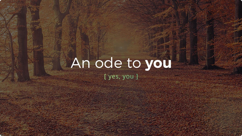 Thanksgiving 2016 - An ode to you - Header.jpg